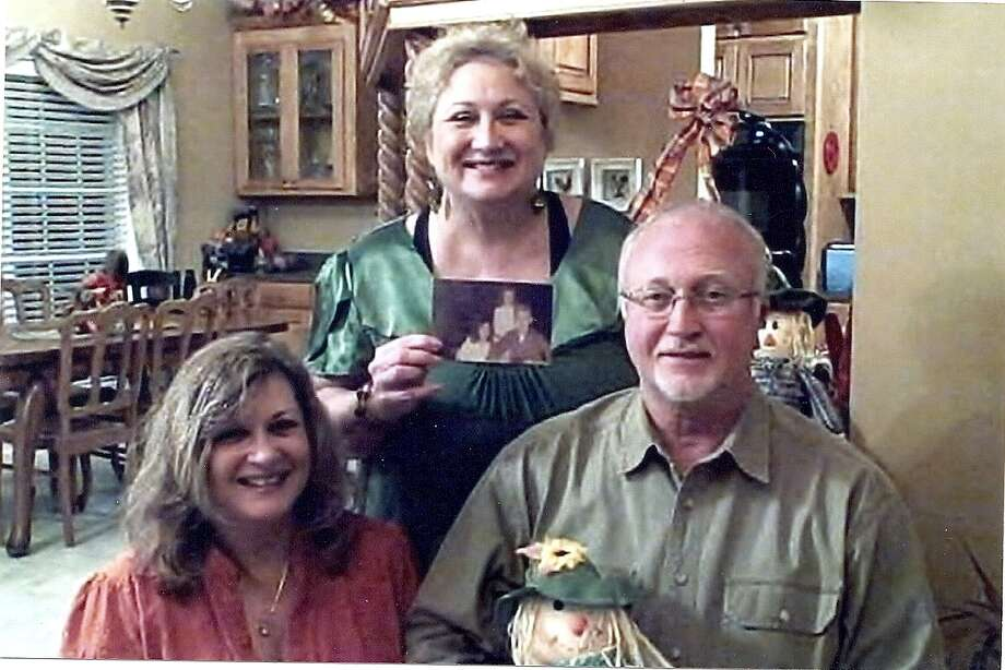 Now: Pictured left to right: Kathleen Perrett Molitor, Jackie Perrett Harrison and Rick Perrett.