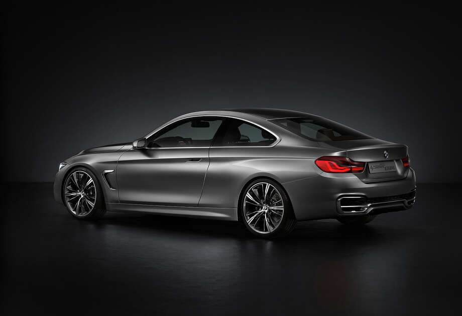 BMW 4-Series concept Photo: BMW
