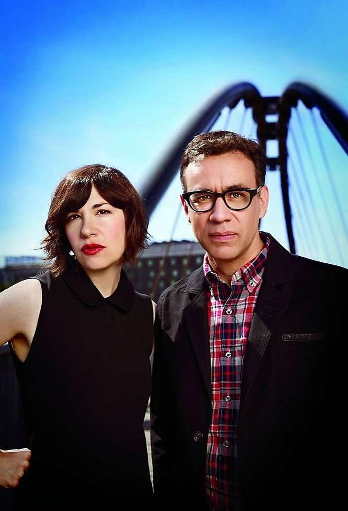 """The cast of """"Portlandia,"""" including Carrie Brownstein and Fred Armisen, are appearing at the 12th annual SF Sketchfest and Comedy Festival."""