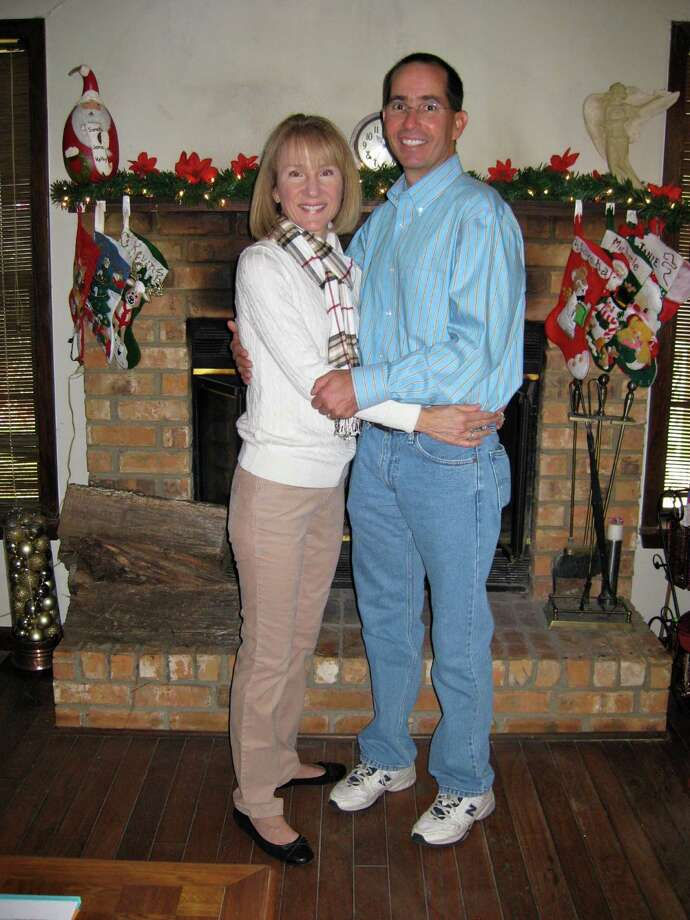 My husband and I have been making our annual Christmas Tour Across Texas from just west of San Antonio to my mom's house in East Texas every year since we met in 1988.  Here we are in 2012!  