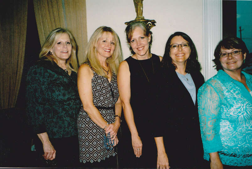 This is a photo of my sister and my cousins in 2012. We are (left to right), me, Teresa, Suzy, Debby