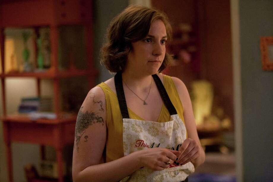 "Lena Dunham in Season 2 of ""Girls"" on HBO. (Jessica Miglio)"