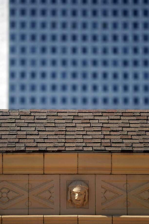 The bas-reliefs on the Great Southwest Building downtown Sunday Jan. 06, 2013.(Dave Rossman/For the Chronicle) Photo: Dave Rossman, Freelance / © 2012 Dave Rossman