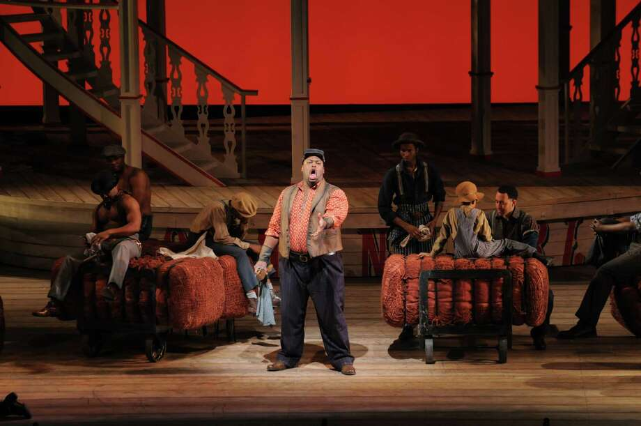 Morris Robinson (JOE) in Showboat  credit Ken Howard, Lyric Opera of Chicago Photo: Ken Howard / ROBERT F KUSEL    2011