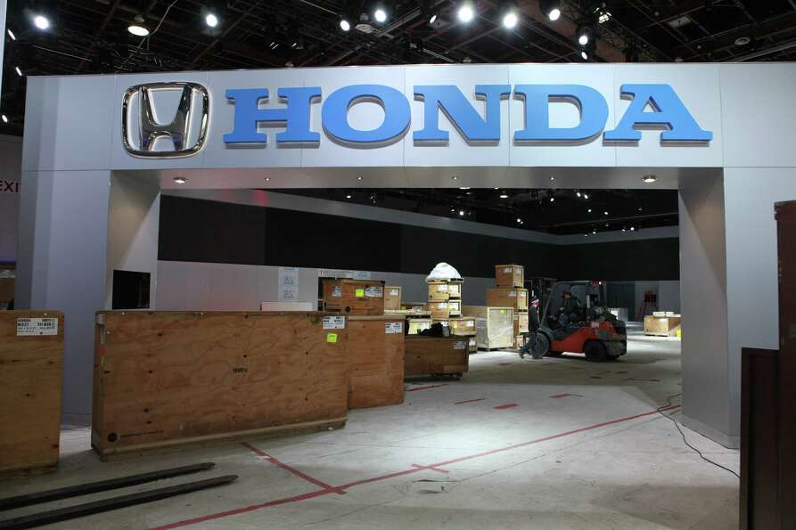 Preparations begin for the 2013 North American Auto Show in Detroit. The show opens January 19th and