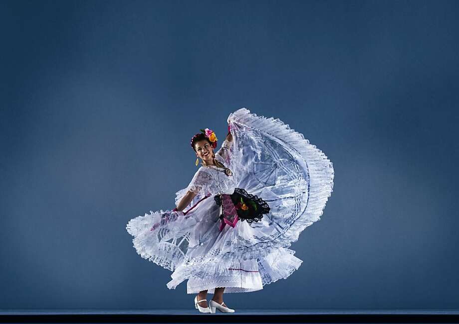 Olivia Ruiz of Ballet Folklorico Mexicano de Carlos Moreno was among the performers in last year's Ethnic Dance Festival. Photo: World Arts West