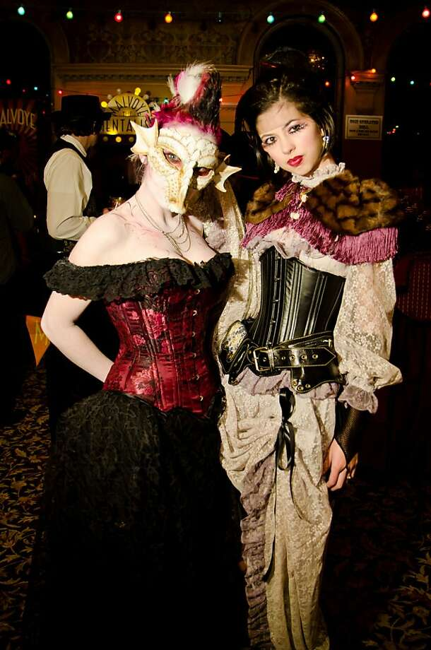Costumes from previous Edwardian Ball Photo: Marco Sanchez, Edwardian Ball