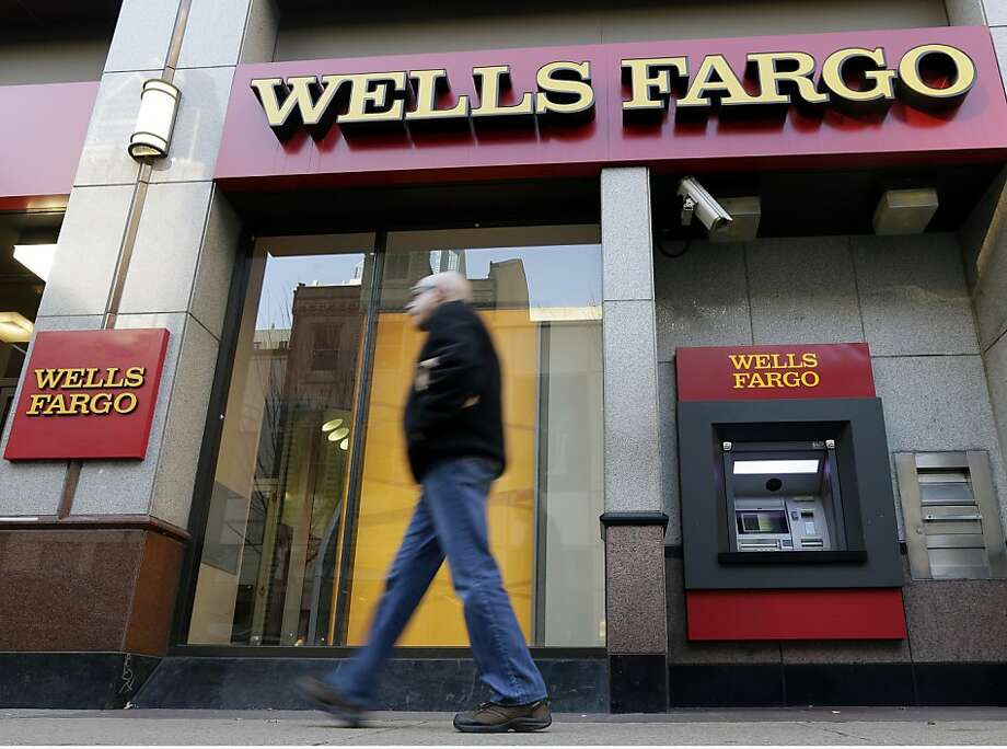 Wells Fargo has boosted business in credit cards and wealth management. Photo: Matt Rourke, Associated Press