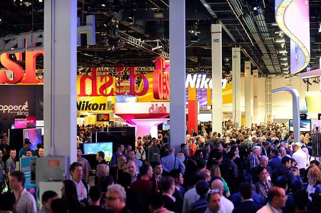 It's hard to quibble with CES' importance as a trade show; that is to say, a flea market for techies to browse the goods (and bads) that will be coming to the market in the coming year, to place orders, spot acquisition opportunities or shamelessly filch ideas. There's a reason some 150,000 people showed up this year. Photo: David Becker, Getty Images