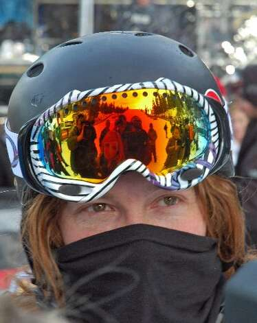 Shaun White is the man behind the mask. (SFChronicle)