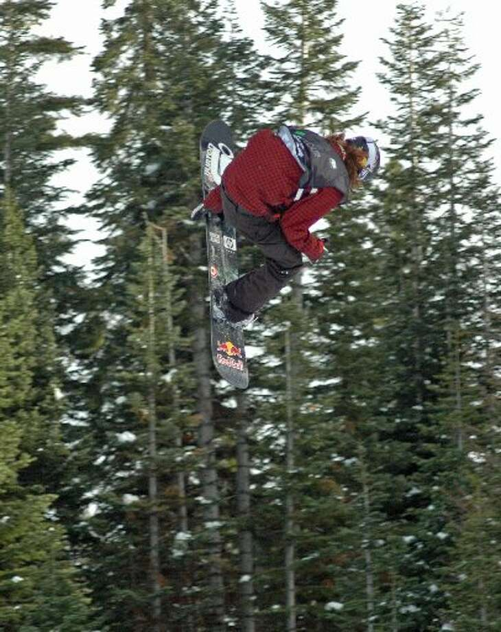 Here's Shaun White jumping at Northstar last year. (SFChronicle)