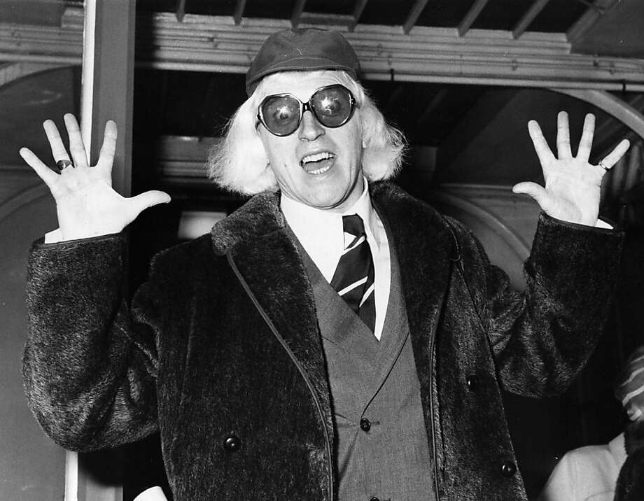 TV host Jimmy Savile, once one of Britain's most loved figures, is now one of its most reviled. Photo: Evening Standard, Getty Images