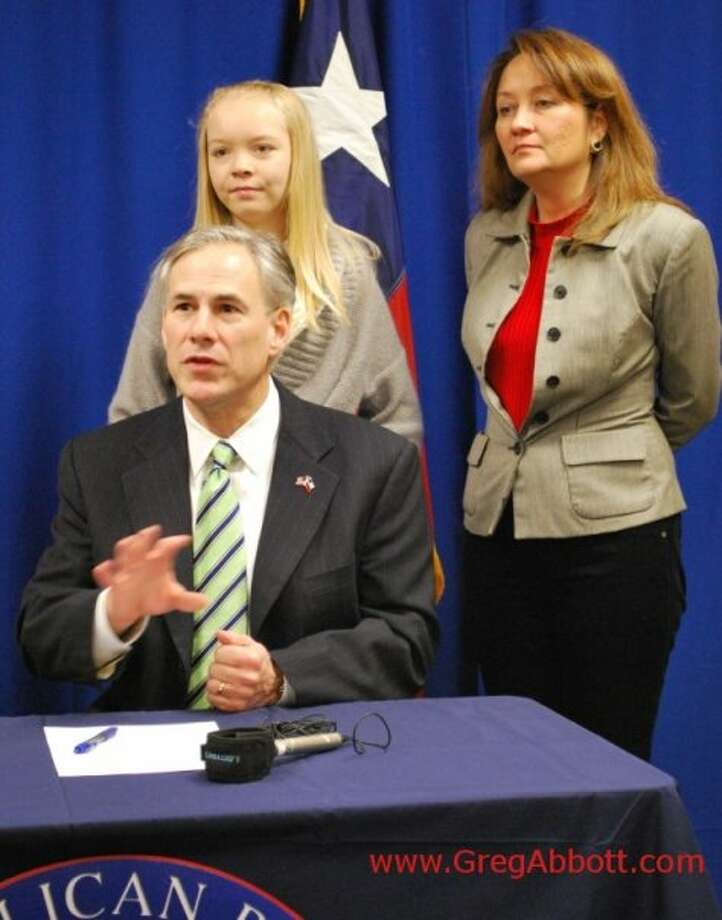 General Abbott files for reelection for Texas Attorney General