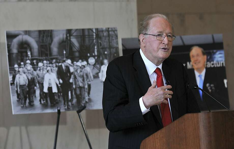 U.S. Senator Jay Rockefeller says he is proud of his fight to protect coal miners. The coal-mining industry has attacked him recently over clean-air regulations. Photo: Craig Cunningham, Associated Press
