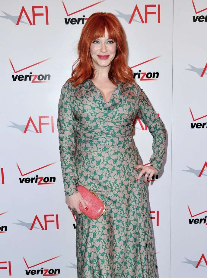 Actress Christina Hendricks attends the 13th Annual AFI Awards at Four Seasons Los Angeles at Beverly Hills on January 11, 2013 in Beverly Hills, California. Photo: Alberto E. Rodriguez, Getty Images / 2013 Getty Images