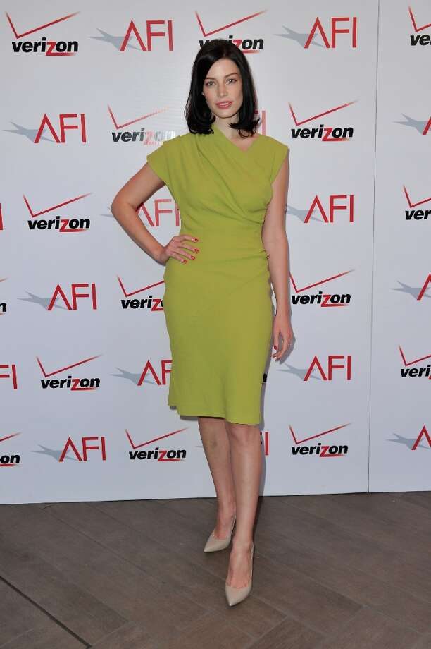 Actress Jessica Pare attends the 13th Annual AFI Awards at Four Seasons Los Angeles at Beverly Hills on January 11, 2013 in Beverly Hills, California. Photo: Alberto E. Rodriguez, Getty Images / 2013 Getty Images