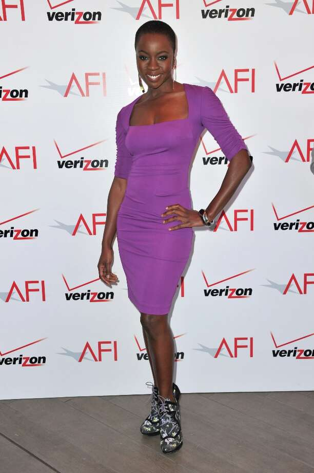Actress Danai Gurira attends the 13th Annual AFI Awards at Four Seasons Los Angeles at Beverly Hills on January 11, 2013 in Beverly Hills, California. Photo: Alberto E. Rodriguez, Getty Images / 2013 Getty Images