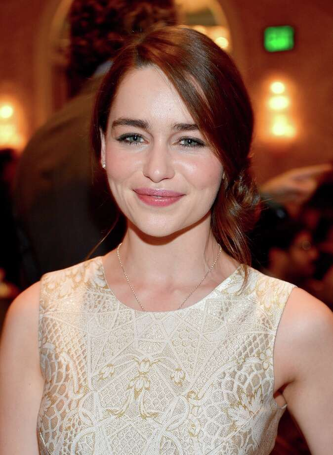 Actress Emilia Clarke attends the 13th Annual AFI Awards at Four Seasons Los Angeles at Beverly Hills on January 11, 2013 in Beverly Hills, California. Photo: Frazer Harrison, Getty Images / 2013 Getty Images