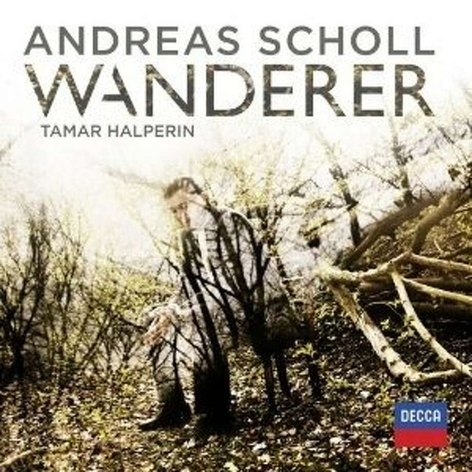 "CD cover: Andreas Scholl ""Wanderer"" Photo: Decca"