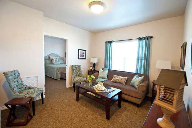 Inside an apartment at Pelican Bay Assisted Living Community. Photo: Facebook.