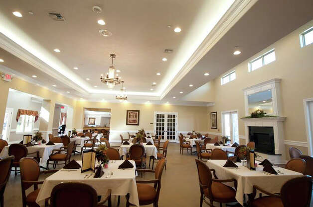 The dining room at Pelican Bay Assisted Living Community. Photo: Facebook.