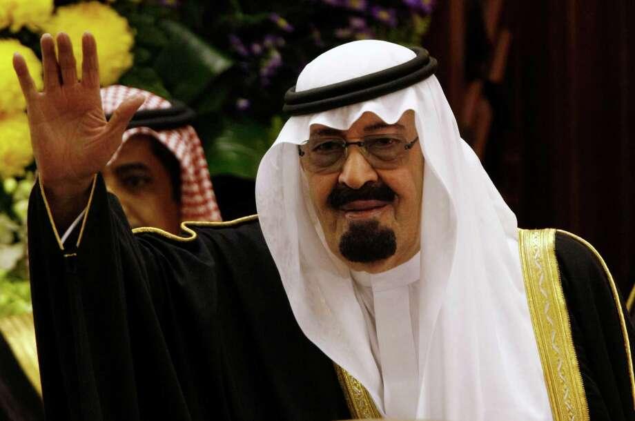 8. King Abdullah bin Abdul Aziz al-Saud,king of Saudi Arabia Photo: Hassan Ammar, STF / AP