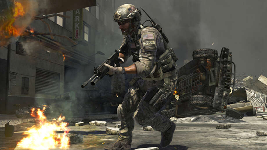 "No. 8: ""Call of Duty: Modern Warfare 3 Photo: Anonymous, Associated Press / AP2011"