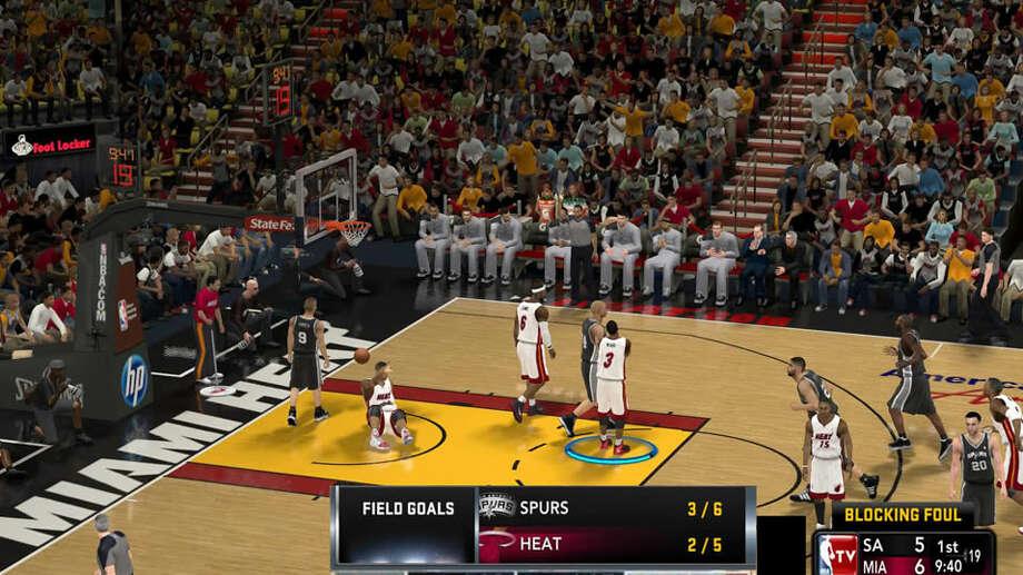 No. 6: NBA 2K13
