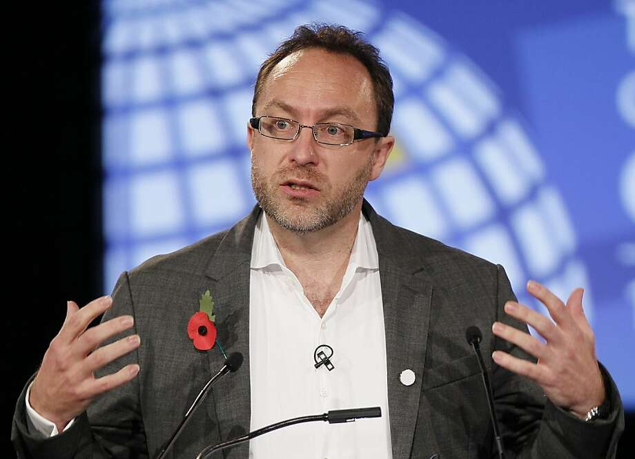 Jimmy Wales, co-founder of Wikipedia, created user-generated Wikia for fans of comics, video games and movies. Photo: Kirsty Wigglesworth, Associated Press