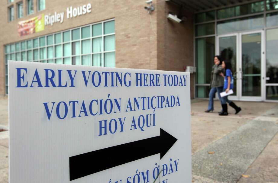 Ripley House is one of several early voting locations set aside for the Senate District 6 special election. Early voting continues to Jan. 22 in the election to replace the late state Sen. Mario Gallegos. Photo: Mayra Beltran, Staff / © 2013 Houston Chronicle