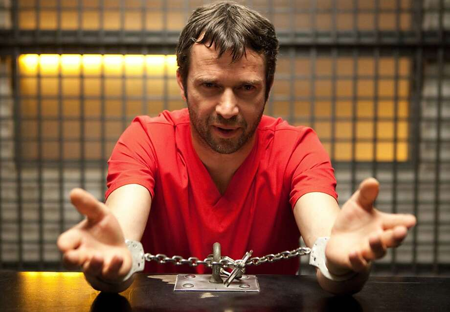 "James Purefoy stars in ""The Following,"" a Fox television series that has raised new questions about network violence. Photo: Fox"