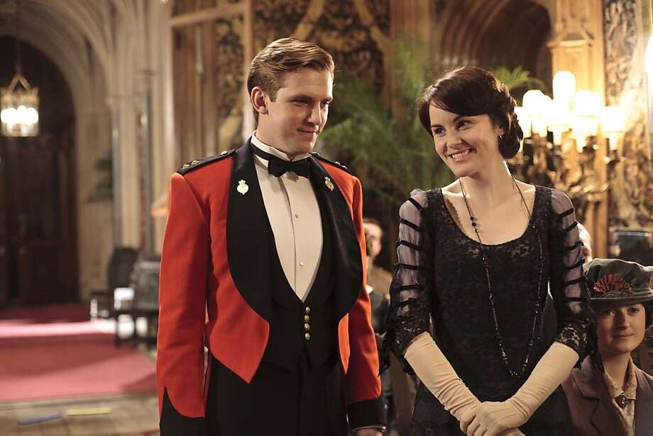 'Downton Abbey' fans - ever wonder what your favorite stars look like when they're not in those prim, post-Edwardian costumes? Here's a look. (Carnival Film & Television Limited for MASTERPIECE).