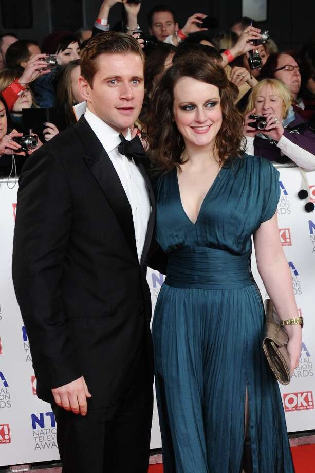 Sophie McShera and actor Allen Leech, who plays 'Tom Branson,' looking glamorous at London's National Television Awards in 2012.  Photo: Ian Gavan, Getty Images / 2012 Getty Images