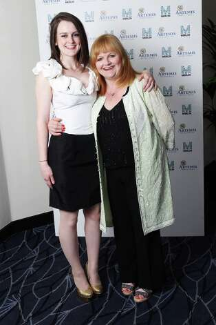 It's Daisy and Mrs. Patmore, AKA actresses Sophie McShera (L) and Lesley Nicol. Photo: Dave J Hogan, Getty Images / 2011 Getty Images