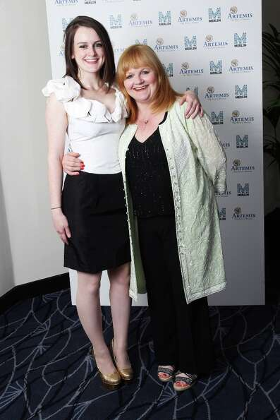 It's Daisy and Mrs. Patmore, AKA actresses Sophie McShera (L) and Lesley Nicol.
