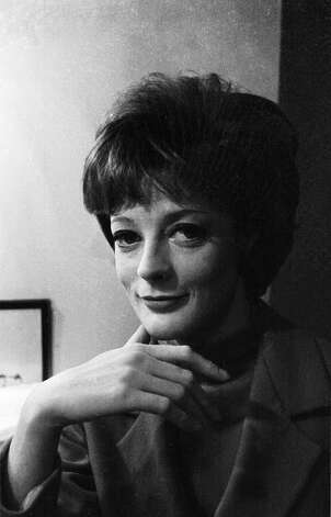 You know her as the Dowager Countess. But here's actress Maggie Smith lin 1963, long before the role came along. Photo: Stan Meagher, Getty Images / Hulton Archive