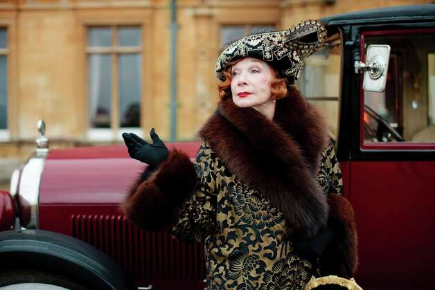 Shirley MacLaine as the modern, opinionated Martha Levinson in 'Downton Abbey.' (Carnival Film & Television for Masterpiece).  Photo: CARNIVAL FILM & TELEVISION, New York Times / CARNIVAL FILM & TELEVISION FOR M