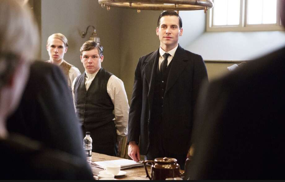 Rob James-Collier as 'Thomas' in 'Downton Abbey.' (Carnival Film & Television Limited 2012 for MASTERPIECE).