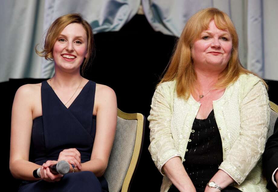Laura Carmichael ('Lady Edith') and Lesley Nicol ('Mrs. Patmore') in 2011. Photo: Ian Gavan, Getty Images / 2011 Getty Images
