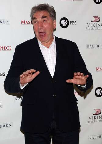 Mr. Carson would not approve of this pose, struck by actor Jim Carter who plays him. Photo: Astrid Stawiarz, Getty Images / 2012 Astrid Stawiarz