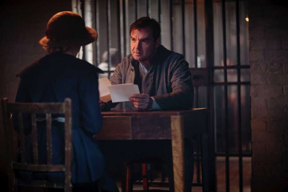 Brendan Coyle, looking down and out as the imprisoned Bates. Photo: Nick Briggs, Nick Briggs/Carnival Films  / © Carnival Film & Television Limited