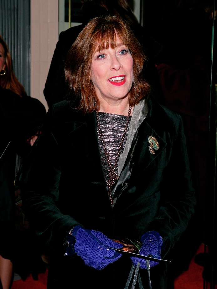 It's Mrs. Hughes with lipstick (actress Phyllis Logan).  Photo: Indigo, Getty Images / 2011 Indigo