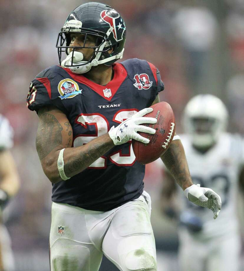 I can't wait until being educated (aware) and being an upstanding human being is what the cool crowd does.— Arian Foster (@ArianFoster) January 17, 2012 Photo: Karen Warren, Staff / © 2012 Houston Chronicle