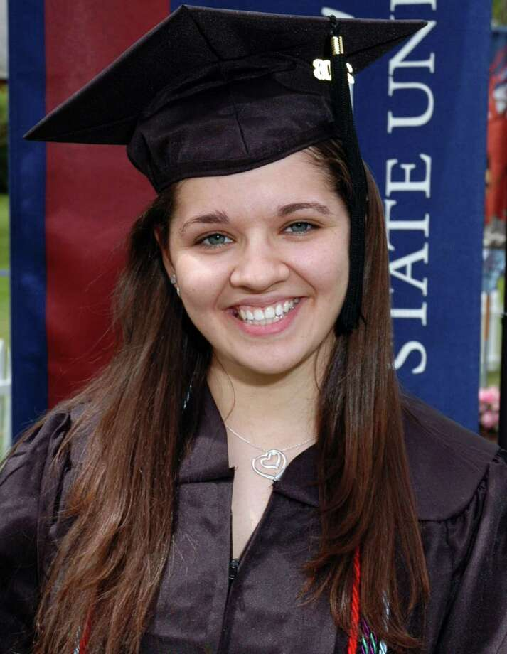 FILE - This undated file photo provided to The Associated Press by Eastern Connecticut University shows Sandy Hook Elementary School teacher Victoria Soto. Soto,27, was killed on Friday, Dec. 14, 2012, when a gunman walked into the school in Newtown, Conn., and opened fire, killing 26 people, including 20 children. Stratford, Conn., Mayor John Harkins is proposing to name a school for Soto. Soto was a Stratford resident. Construction is set to begin on the new school this summer. (AP Photo/Eastern Connecticut University, File) Photo: Uncredited, Associated Press / Eastern Connecticut University