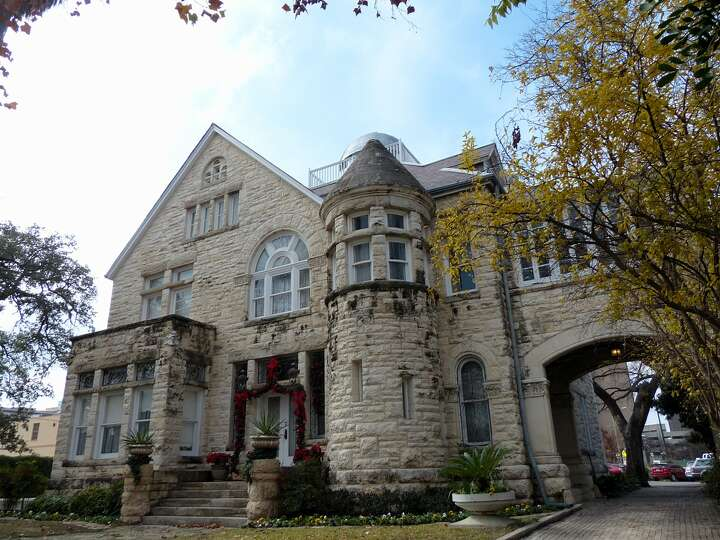 The Maverick-Carter House, tucked away amid offices, churches and Municipal Auditorium, is on