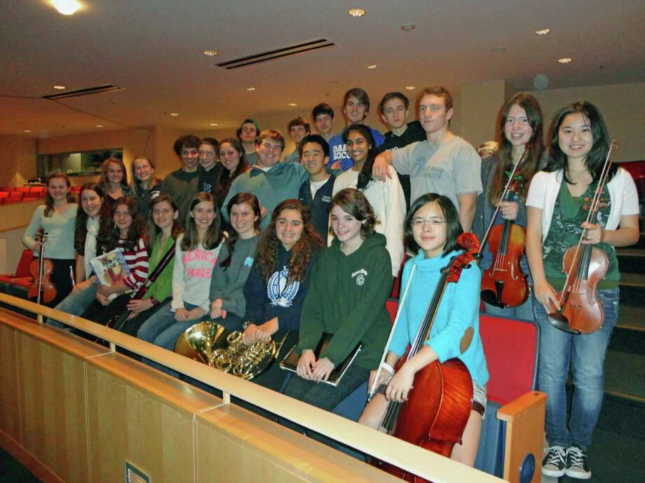 Twenty-eight musicians from Darien High School have been chosen through a competitive audition process to perform at the Connecticut Music Educators Association Western Region Music Festival. Photo: Contributed