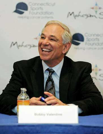 Stamford's Bobby Valentine has kept busy since leaving the Red Sox. His latest endeavor is as a Major League Baseball contributor to NBC Sports Radio, but sources say he has intererest in the athletic director's job at Sacred Heart University. Photo: Fred Beckham, Fred Beckham/Associated Press / FR153656 AP