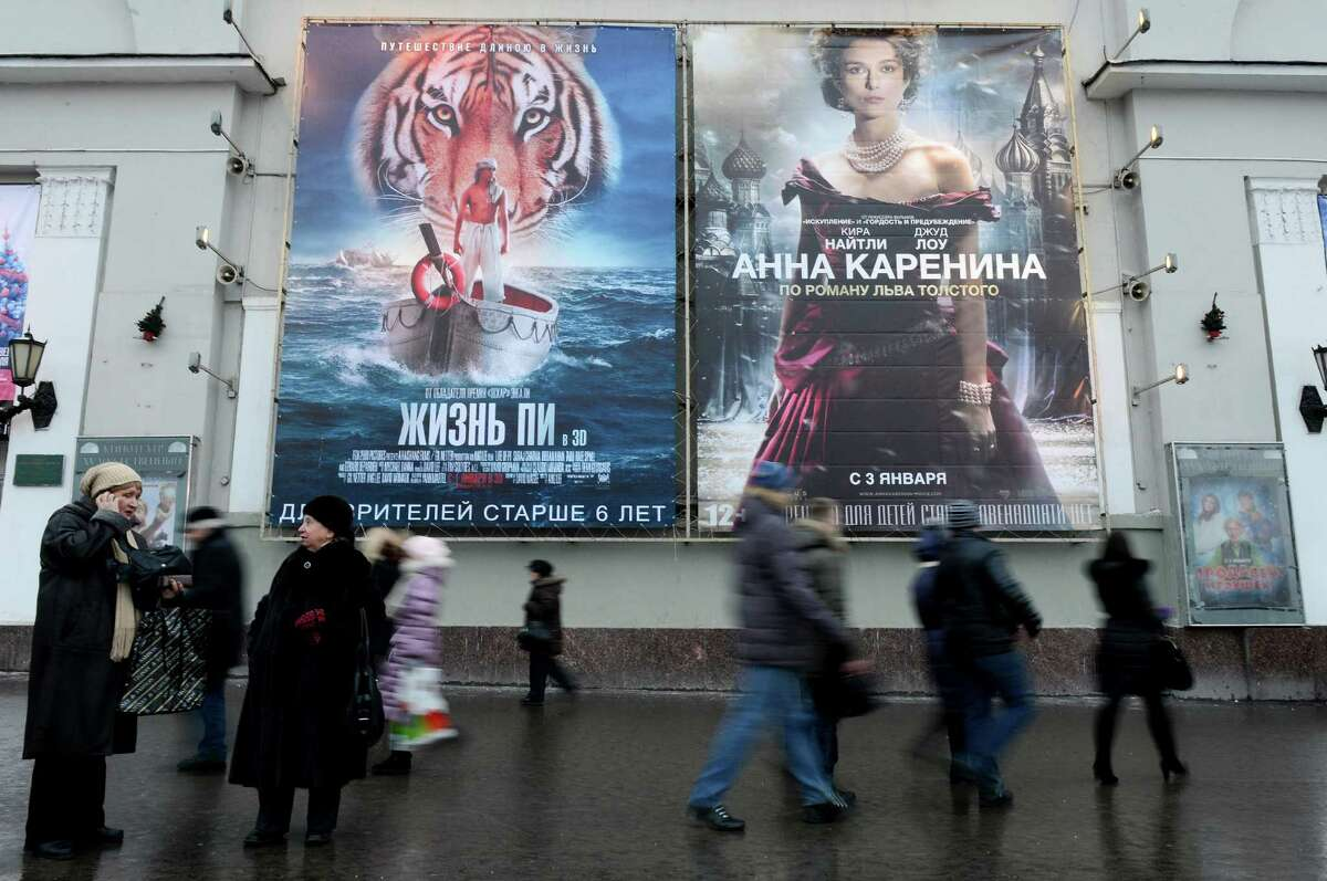Russia might require theaters screen Russian-made films no less than 20 percent of the time or risk fines.