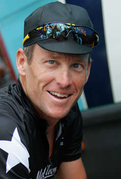 Lance Armstrong on July 3, 2009, as he prepares to leave for a training in Monaco ahead of the start of the 96th edition of the Tour de France cycling race.  (AP Photo/Christophe Ena) Photo: CHRISTOPHE ENA, Associated Press / AP