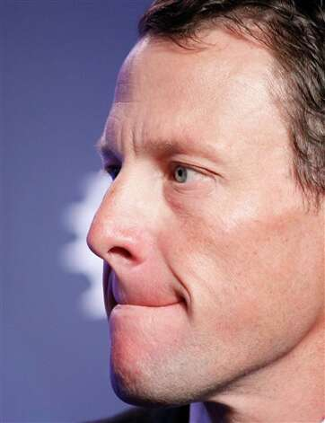 Lance Armstrong, cyclist and Founder of Livestrong, attends the Clinton Global Initiative, Wednesday, Sept. 22, 2010 in New York. (AP Photo/Mark Lennihan) Photo: Mark Lennihan, Associated Press / AP